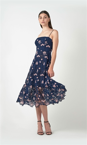 THE FLOWERS LACE DRESS-brand-RUBY