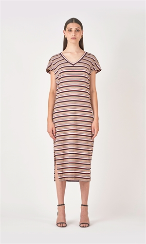DEVON STRIPE DRESS-weekend essentials-RUBY