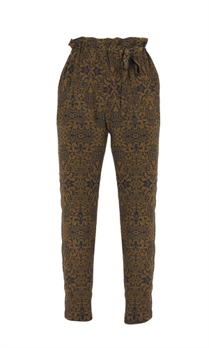 GAMES SILK PANT-the colour edit-RUBY