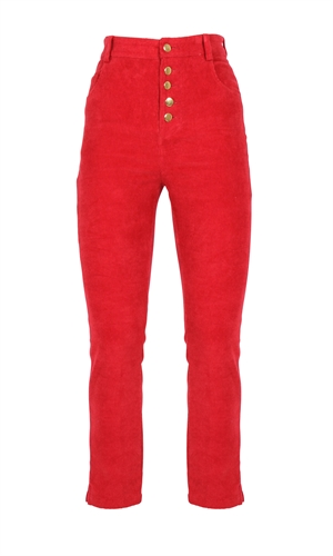 CASSIDY CORDS-trousers-RUBY