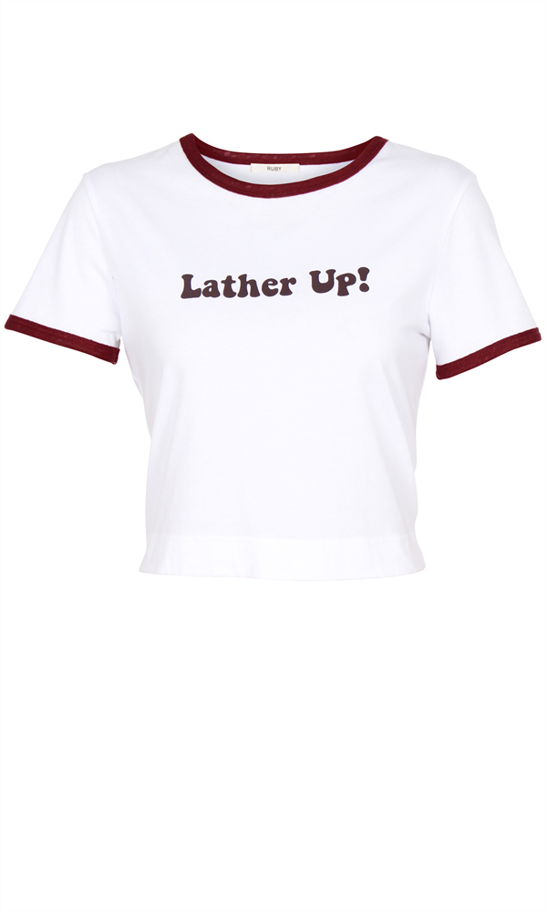 LATHER UP TEE
