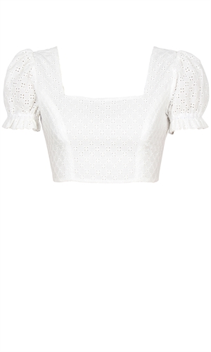 BIANCA CROP BLOUSE-holiday-RUBY