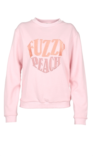 FUZZY PEACH SWEATSHIRT-brand-RUBY