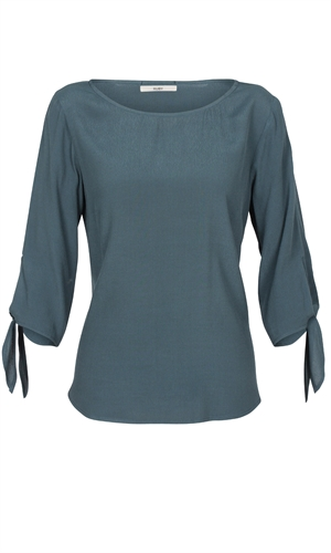 GINSBERG BOW BLOUSE-brand-RUBY