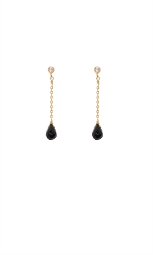 GABRIELLE DROP EARRING-ruby-RUBY