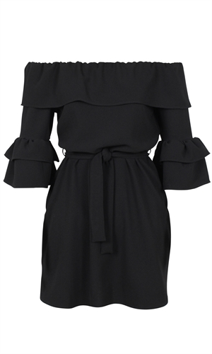 ANOUK RUFFLE DRESS-category-RUBY