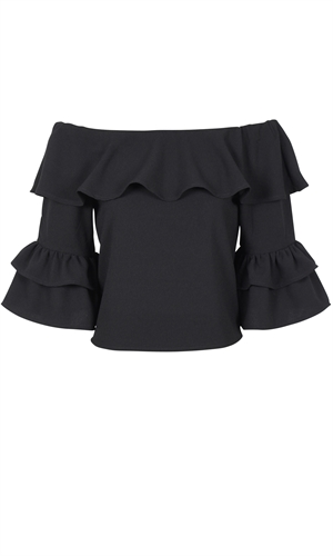 ANOUK RUFFLE BLOUSE-category-RUBY
