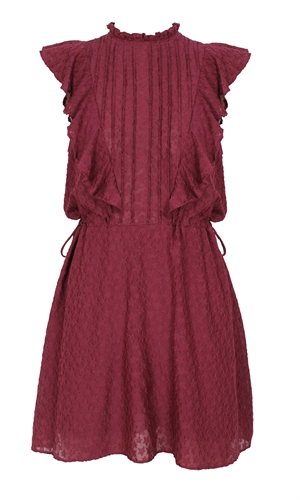 ATHENA PINTUCK DRESS-brand-RUBY
