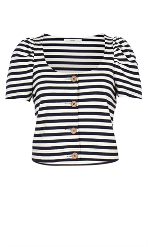 CAMILLA STRIPE TOP-tops-RUBY