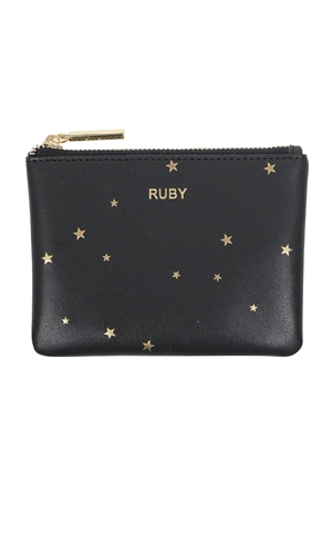 LEATHER COIN PURSE-brand-RUBY