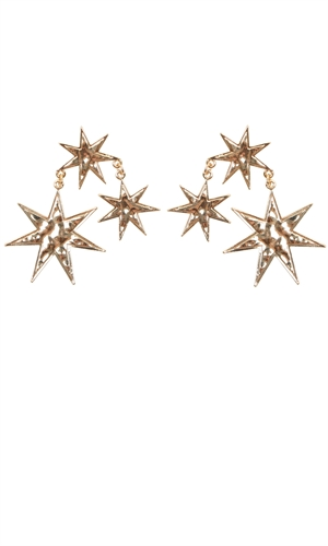 CONSTELLATION TRIO EARRING-brand-RUBY