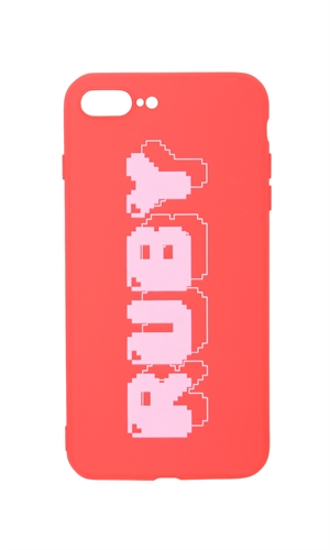 8-BIT RUBY IPHONE 8+ CASE-brand-RUBY