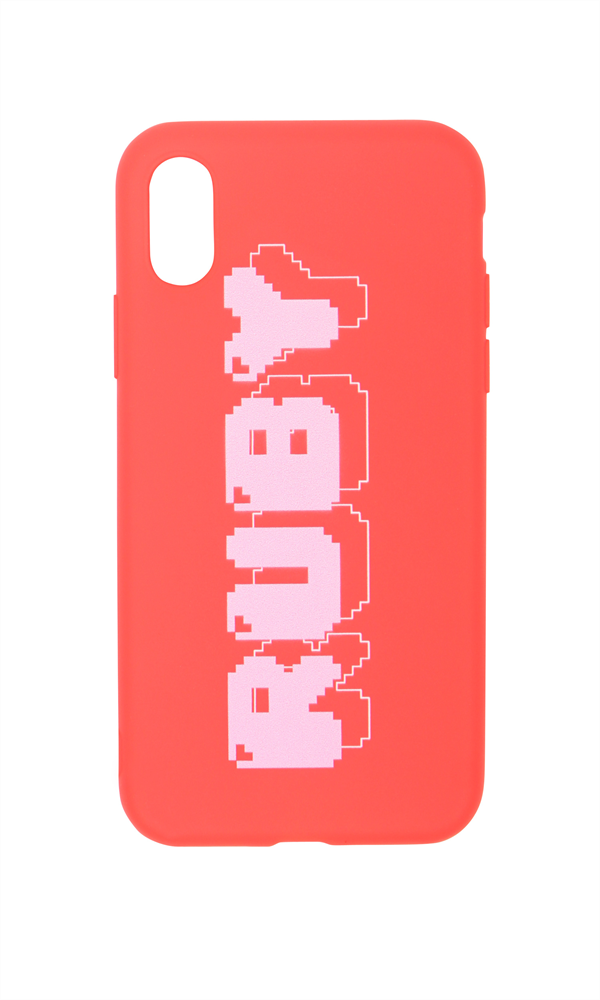 8-BIT RUBY IPHONE X CASE