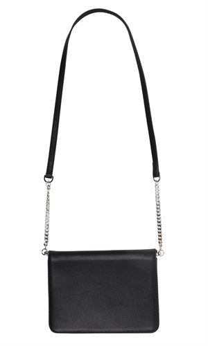 ZADIE LEATHER CHAIN BAG-brand-RUBY