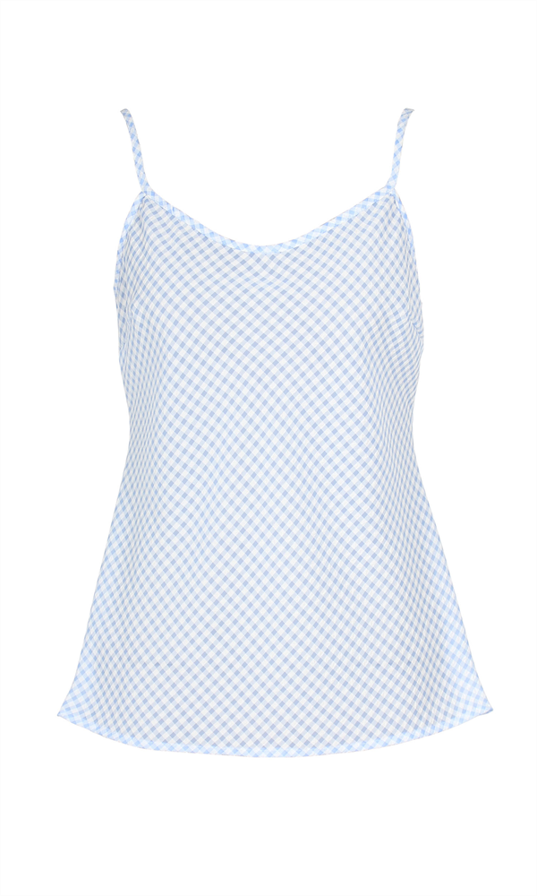 MIES GINGHAM CAMISOLE