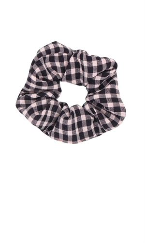 GEORGIE CHECK SCRUNCHIE-brand-RUBY