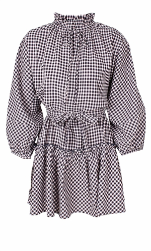 GEORGIE CHECK DRESS-brand-RUBY