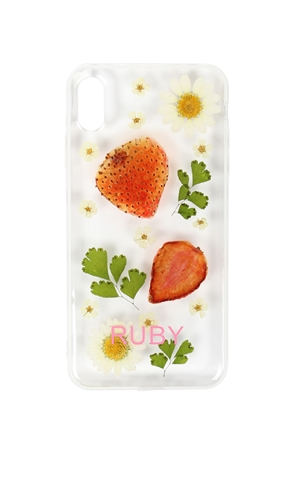 STRAWBERRY IPHONE XS CASE-brand-RUBY