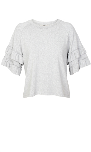 RILEY RUFFLE T-SHIRT-brand-RUBY
