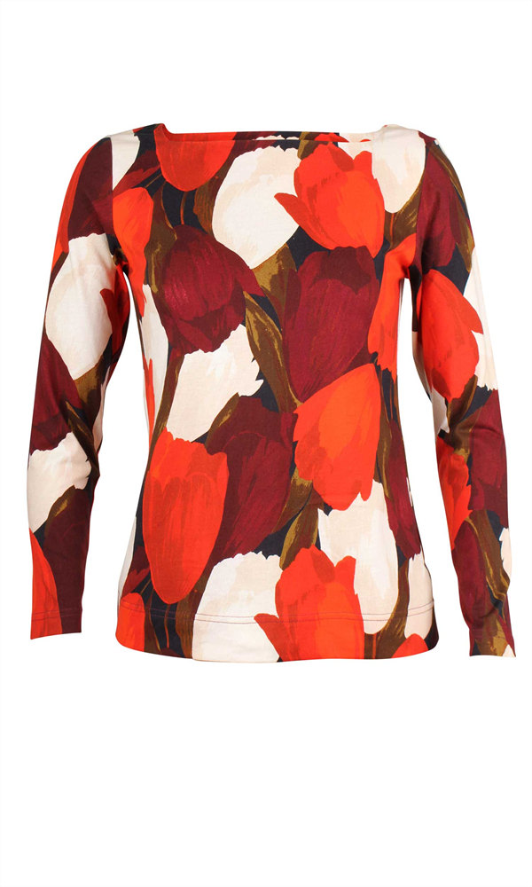 TULIPS LONGSLEEVE TOP