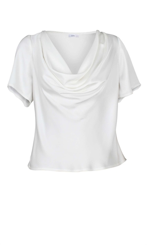 COTERIE COWL NECK TOP-liam-RUBY