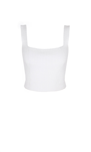 CADILLAC CROP WHITE-brand-RUBY