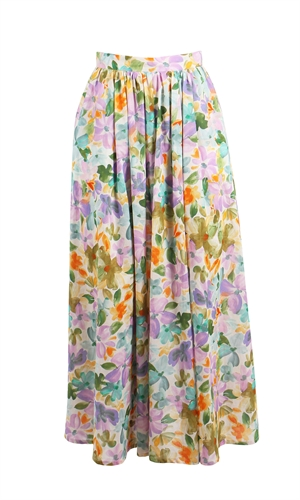 BETTINA COTTON SKIRT-made in new zealand-RUBY