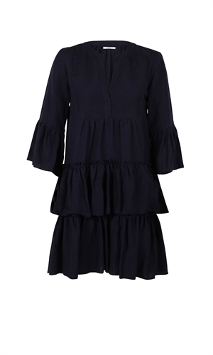 CHELSEA RUFFLE DRESS-brand-RUBY