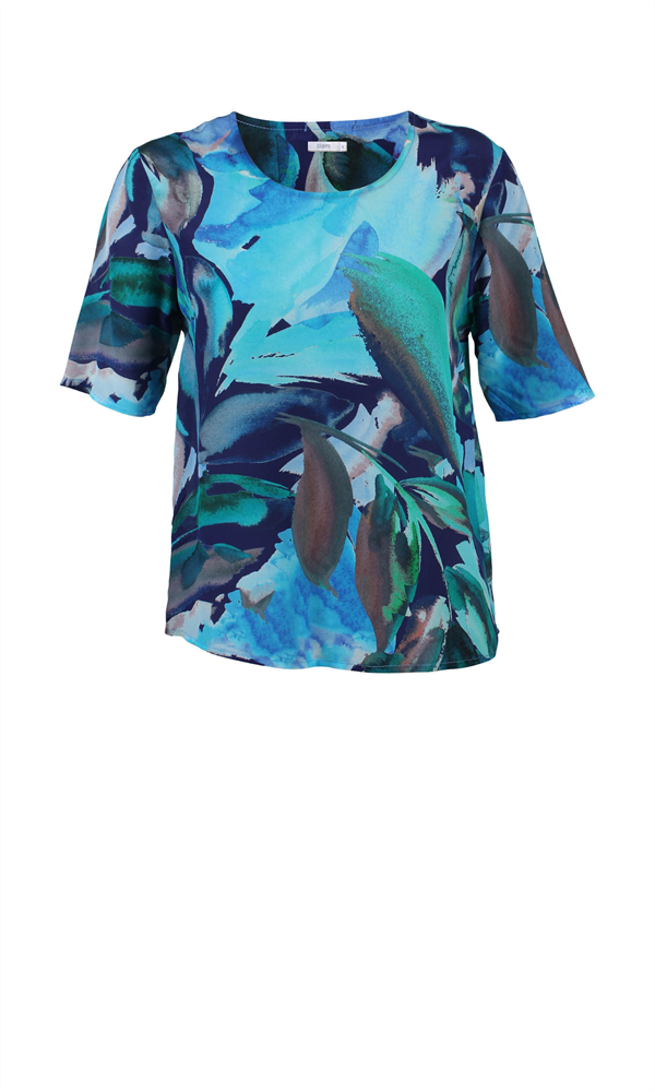GEMMA SILK T-SHIRT