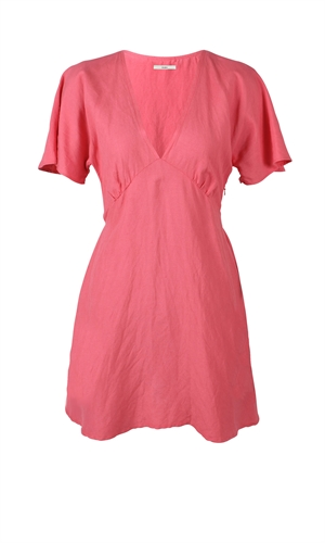 BETTINA LINEN MINIDRESS-brand-RUBY