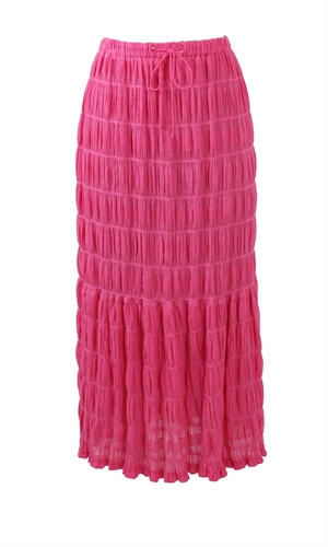 MIRELLA MAXI SKIRT-RUBY