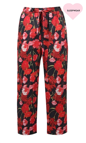 MARINA COTTON PANT-ruby-RUBY
