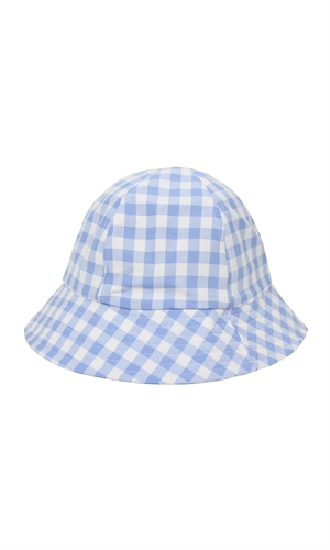 GINGHAM PANELLED HAT -brand-RUBY