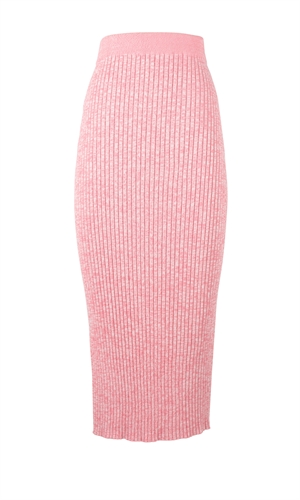 WAVES KNIT SKIRT-brand-RUBY