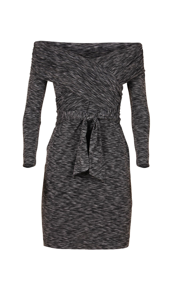 SONNET WRAP DRESS
