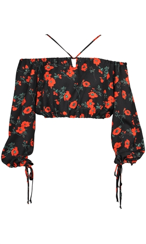 ROSA CROP TOP-ruby-RUBY