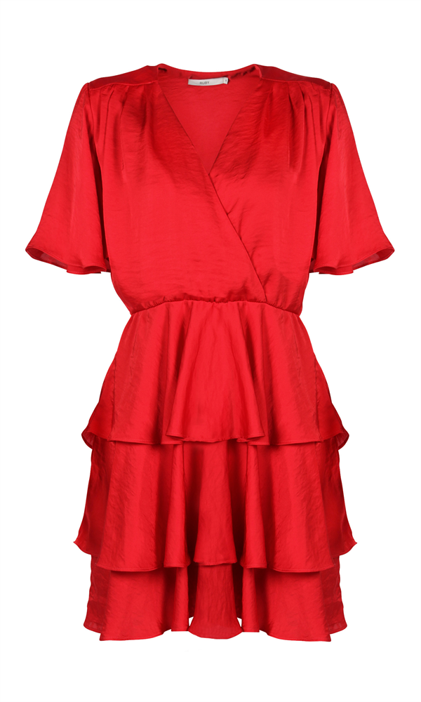 AMORE RUFFLE DRESS