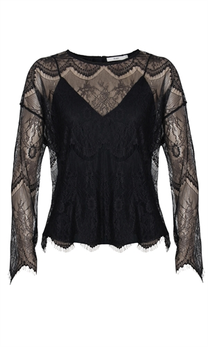 PIZZO LONGSLEEVE-good witch-RUBY