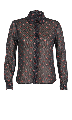 CHERRY BOMB BLOUSE-casual friday's-RUBY