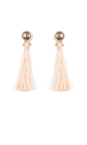 FULL MOON TASSEL EARRING-jewellery-RUBY