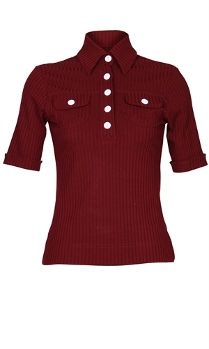 EIGHTFOLD POLO-casual friday's-RUBY