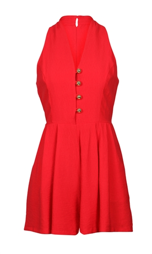 STRAWBERRY PLAYSUIT-playsuits-RUBY