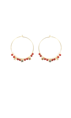 STELLA HOOP EARRING-accessories-RUBY