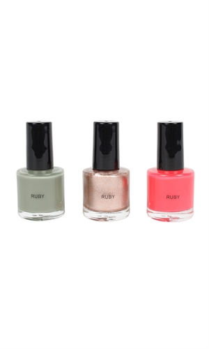 MINI NAIL POLISH SET-gifts-RUBY